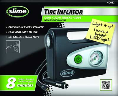 2. Slime 40032 Tire Inflator