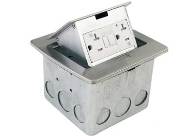 5. Lew Electric PUFP-CT-SS Pop-up Countertop Box