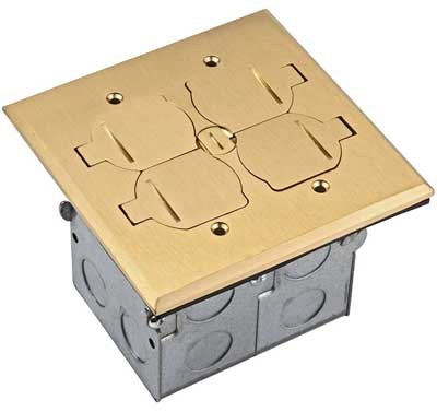 6. Enerlites 705549-D-C Floor Box Kit