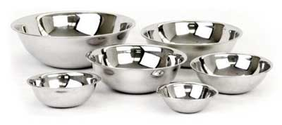 7. Dozenegg Standard Weight Mixing Bowls