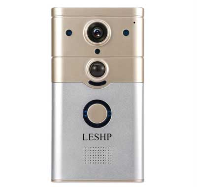 6. LESHP Wireless Wi-Fi Video Smart Doorbell, HD 720P