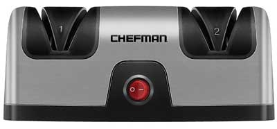1. Chefman Electric Knife Sharpener
