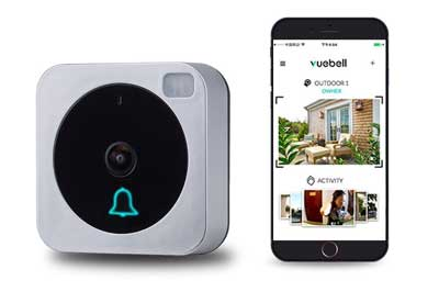 3. NETVUE Wifi Video Doorbell with Camera 720P HD