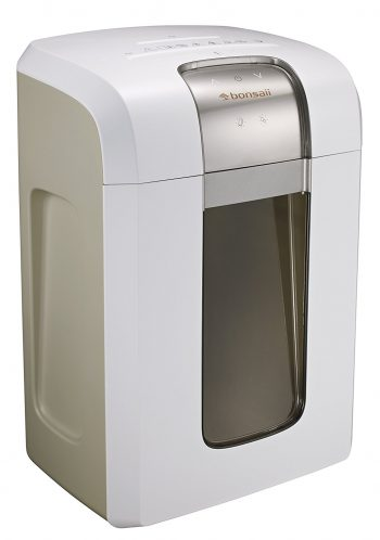 Bonsaii EverShred Pro 4S30 10-Sheet 240-Min Running Micro-Cut Paper/CD/Credit Card Shredder