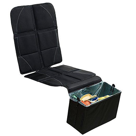 Car Seat Protector with Built-in Trash Can BABYSEATER