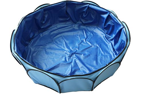 Foldable and Portable Pet Swimming Pool