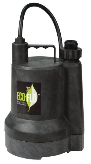 ECO-FLO Products SUP54 Manual Submersible Utility Pump