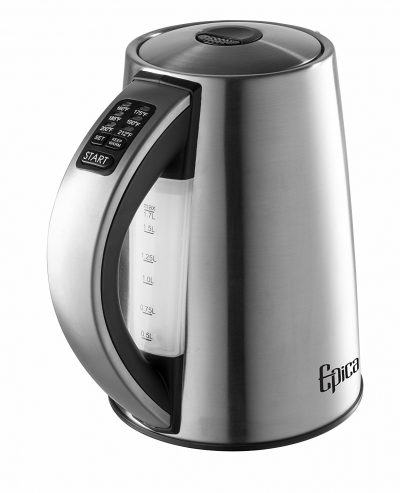 Epica 6-Temperature Variable Stainless Steel Cordless Electric Kettle