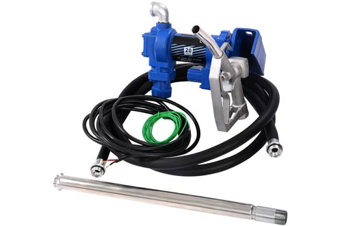 Goplus 20GPM Gasoline Fuel Transfer Pump