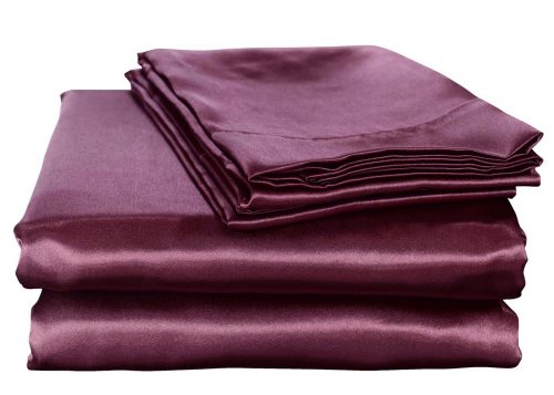 Honeymoon Luxury Satin Bed Sheet Set