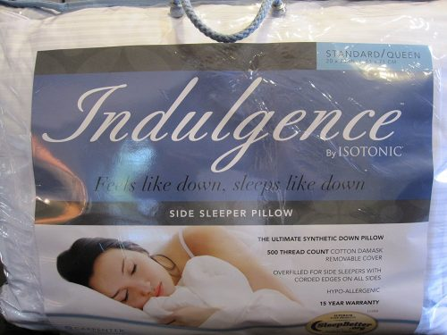 Indulgence Standard/Queen Side Sleeper Pillow