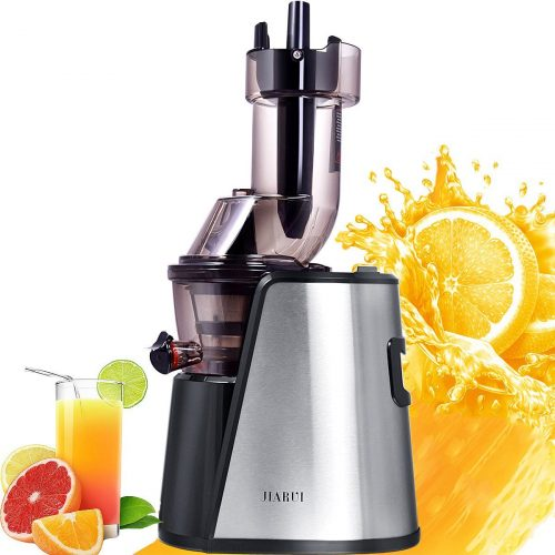 JIARUI Slow Juicer with Big Mouth