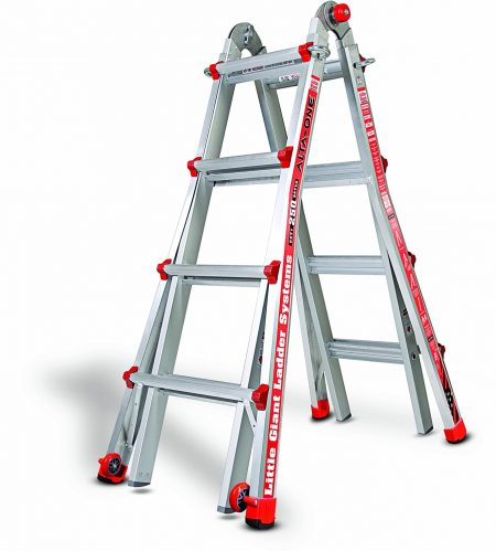 Little Giant 14013-001 Model 17 250 Lbs Capacity Alta-One Ladder
