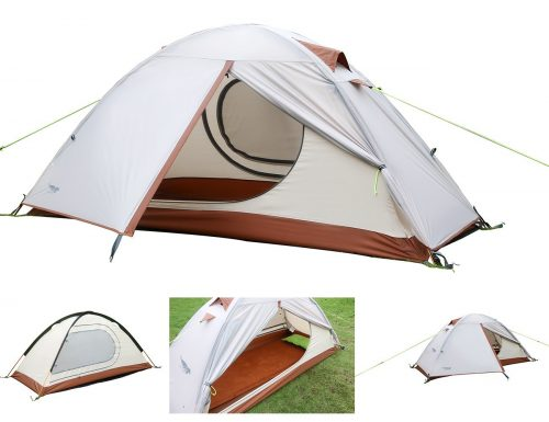 Luxe Tempo Single 1 Person Tent 4 Season Freestanding