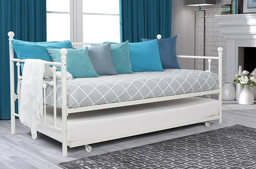 Top 10 Best Wood & Metal Trundle Beds | Daybeds Reviews In 2021