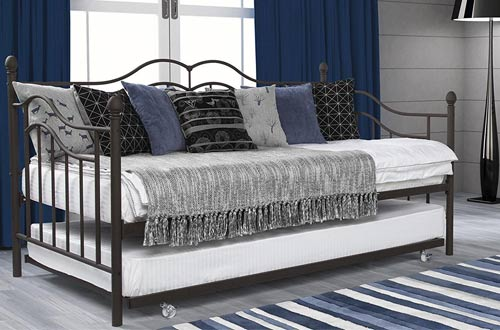 DHP Tokyo Daybed and Trundle with Metal Frame