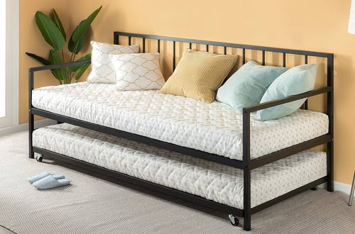 Zinus Newport Twin Roll Out Daybed and Trundle Set