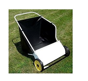 Mid West Products 26 in. Deluxe Push Lawn Sweeper