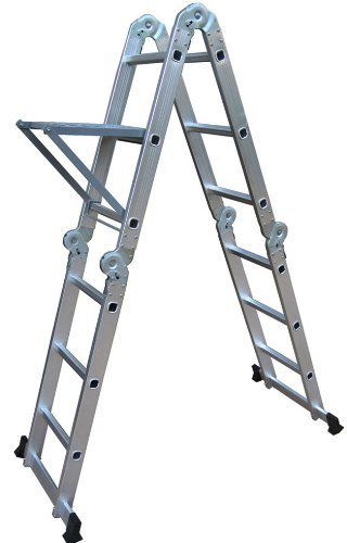 Neiko 01995 Folding Multi-Ladder, Aluminum