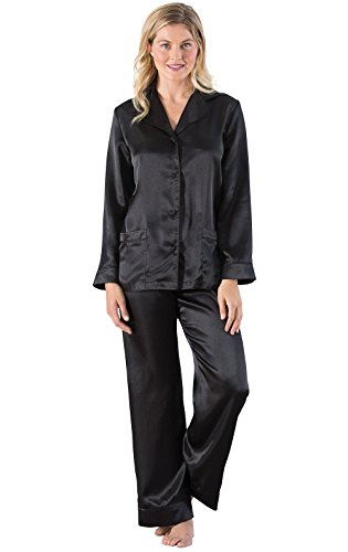 PajamaGram Women's Satin Pajamas
