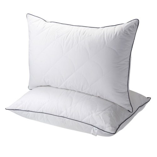 Pillows for Sleeping, Registered with FDA Down Alternative Bed Pillow 2 Pack