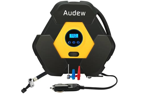 Air Compressor Pump & Digital Tire Inflator