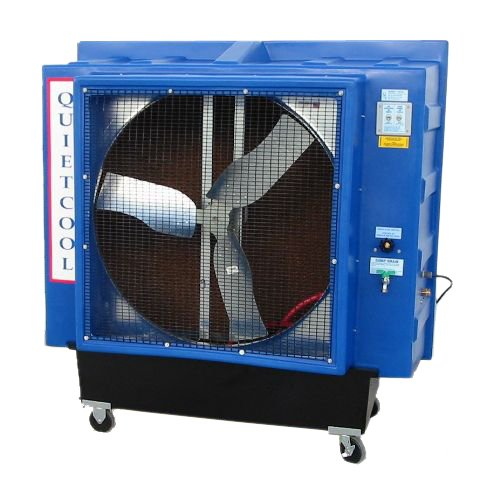 Quietaire QC36D1 36 Inch Direct Drive Portable Evaporative Cooler