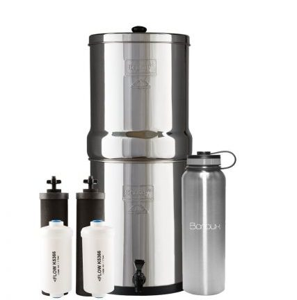 Royal Berkey Water Filter System includes Black Filters