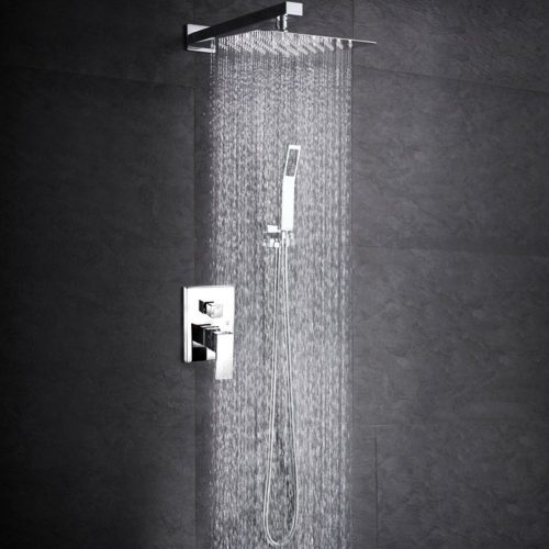 SR SUN RISE SRSH-F5043 Bathroom Luxury Rain Mixer Shower Combo Set