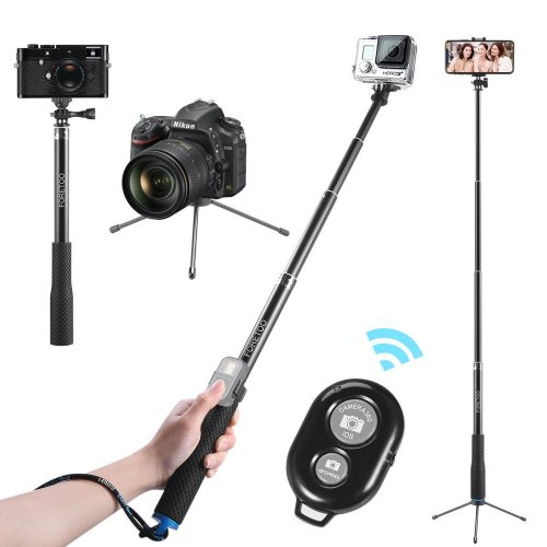 "Selfie Stick,Foretoo 36""Waterproof Hand Grip Adjustable"