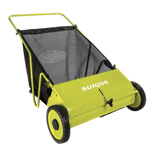 Sun Joe SJSW26M Manual Push Lawn Sweeper