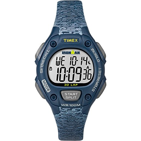Timex Women's Ironman 30-Lap Digital Quartz Mid-Size Watch