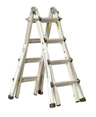 Vulcan Ladder USA ES-17T11G1, Multi Task Ladder