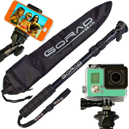 Waterproof Selfie Stick for GoPro Hero 6 & Session-Best GoPro Sticks