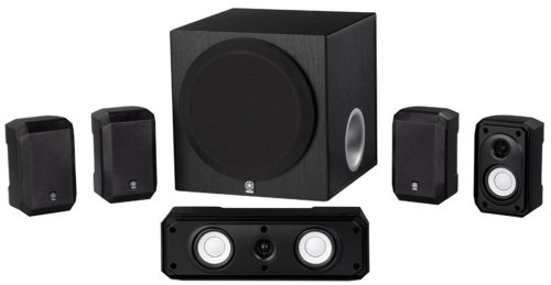 Yamaha NS-SP1800BL 5.1-Channel Home Theater Speaker System-Wireless Home Theater Systems