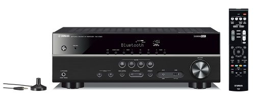 Yamaha RX-V383BL 5.1-Channel 4K Ultra HD AV Receiver