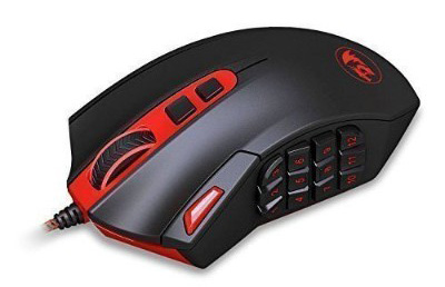 Gaming Mouse for PC Games M901 Perdition Redragon MMO Mouse LED RGB Wired Gaming