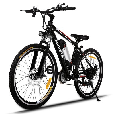 ANCHEER Electric Mountain Bike with 36V, 8AH Removable Lithium-Ion Battery 250W