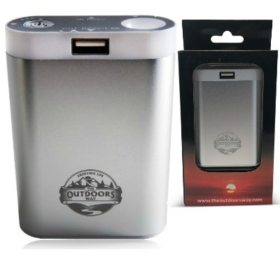 Electric Hand Warmer from the Outdoors Way, Rechargeable Accessory for Hunting and Winter