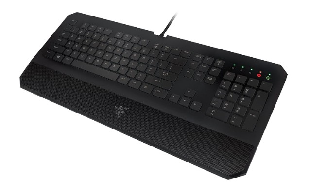 Razer DeathStalker Essential Gaming Keyboard - Ergonomic Gaming-Grade Membrane