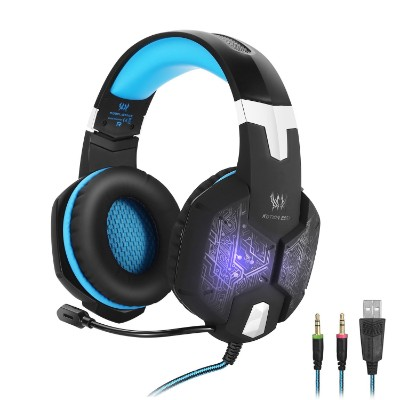 KOTION EACH G1000,3.5mm PC Stereo Gaming Headset with In-line Mic