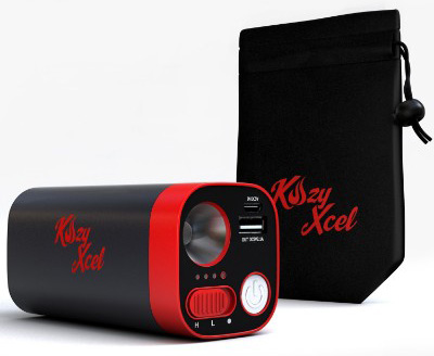 Kozy Xcel 10,400mAh Rechargeable Hand Warmer Provides Comfortable