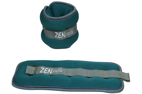 Zensufu Ankle or Wrist Weights Pair Set with Adjustable Strap
