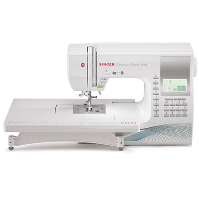 Singer 9960 Quantum Stylist Computerized Portable, 600-Stitch Sewing Machine