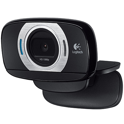 Logitech HD Laptop Webcam C615 with Fold-and-Go Design