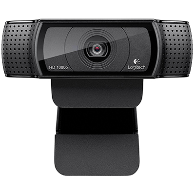 Logitech HD Pro Webcam C920, Widescreen Video Calling, and Recording