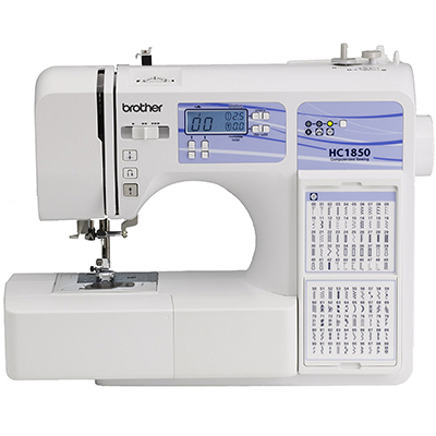 Brother HC1850 130 Built-in Stitches Computerized Sewing and Quilting Machine