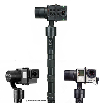 EVO GP-PRO 3 Axis GoPro Gimbal for Hero3