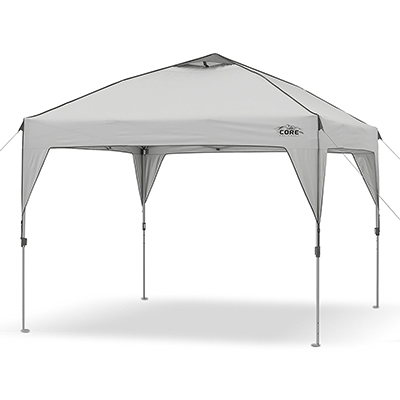 CORE Equipment 10' x 10' Instant Canopy Tent, with Wheeled Carry Bag