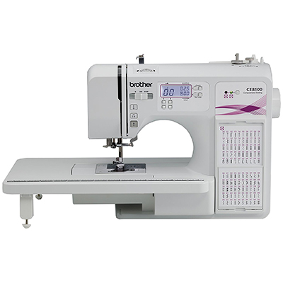 Brother CE8100 Sewing and Quilting Machine with Bonus Foot Pack